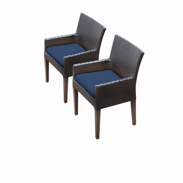 Tegan Patio Dining Chair with Cushion (Set of 2) by Sol 72 Outdoor Sol 72 Outdoor