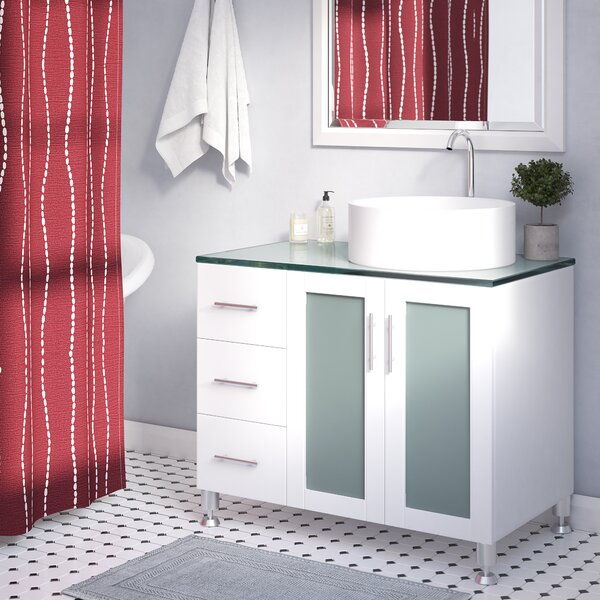 Boswell 36 Single Bathroom Vanity Set by Mercury R