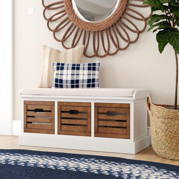 Sonderborg Upholstered Drawer Storage Bench By Laurel Foundry Modern Farmhouse