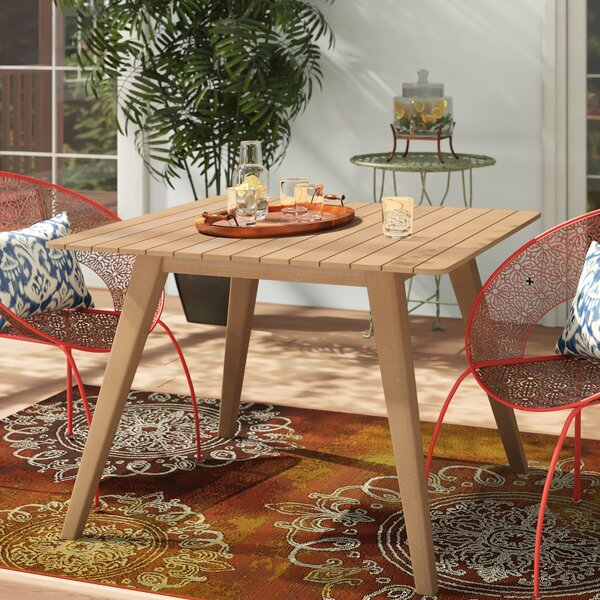 Danya  Dining Table by Bungalow Rose