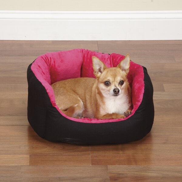 Dimple Plush Nesting Nest Dog Bed by Slumber Pet