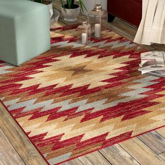 Ebern Designs Bonview Handmade Multicolor Area Rug Wayfair