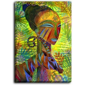 'African Queens' Painting Print on Wrapped Canvas by Bloomsbury Market