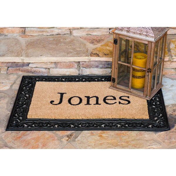 YourOwn Custom Rubber Welcome Doormat by Nance Ind