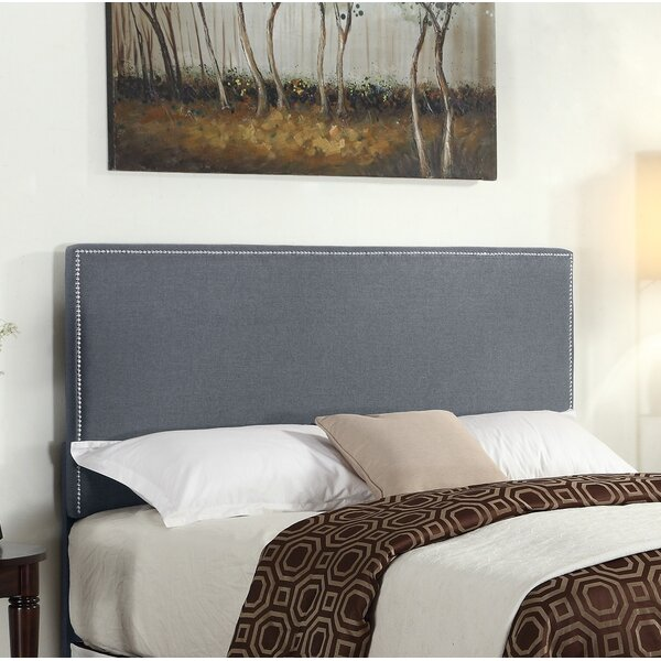 Bronte Upholstered Panel Headboard by Ebern Designs