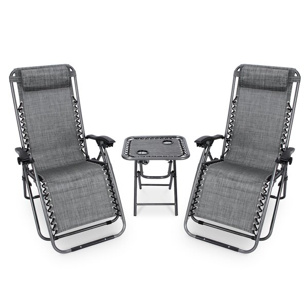 Ozella Gravity Free 3 Piece Seating Group by Freeport Park