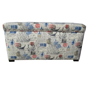 Pavot Fabric Storage Bench by Lark Manor