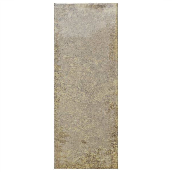 Byth 5.88 x 15.75 Ceramic Field Tile in Cream by EliteTile