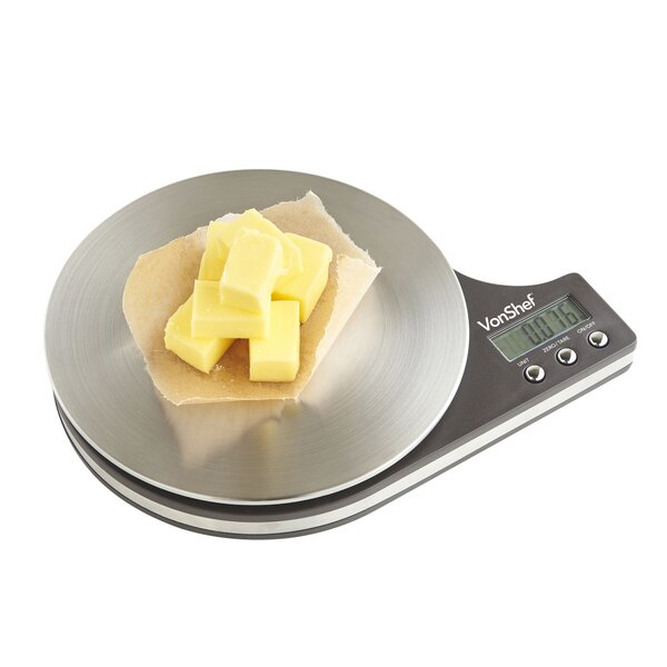 Digital Electronic Kitchen Food Scale by VonShef
