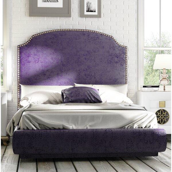 Jernigan Upholstered Standard Bed by Rosdorf Park