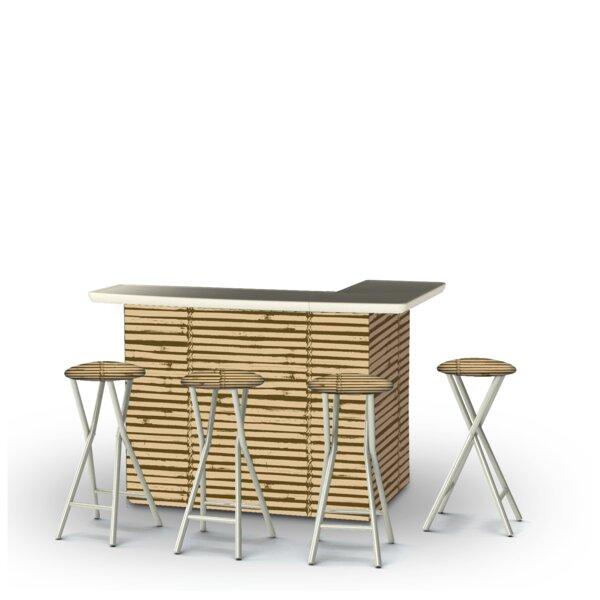 Waller 5-Piece Bar Set by Bayou Breeze