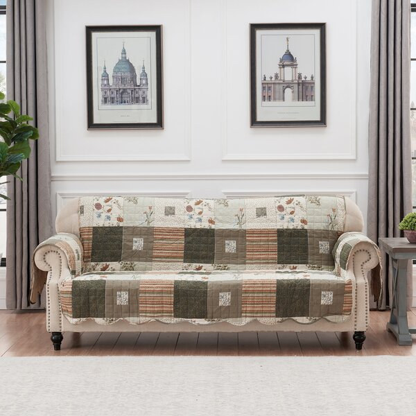 Sedona Sofa Slipcover by August Grove