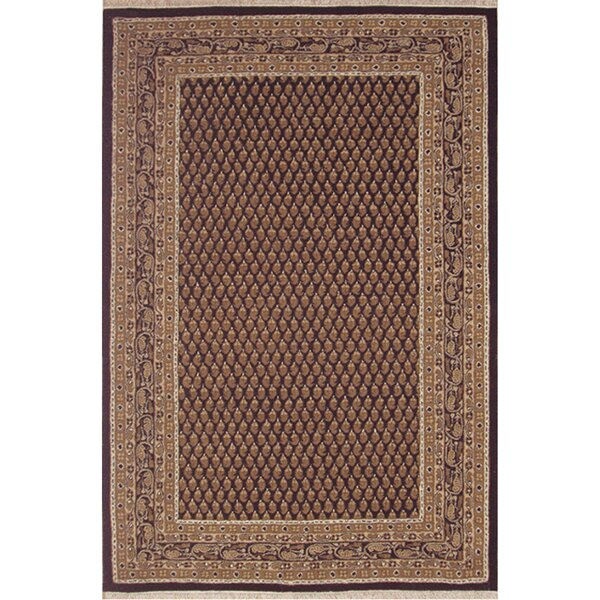 American Home Classic Mir Black/Gold Area Rug by American Home Rug Co.