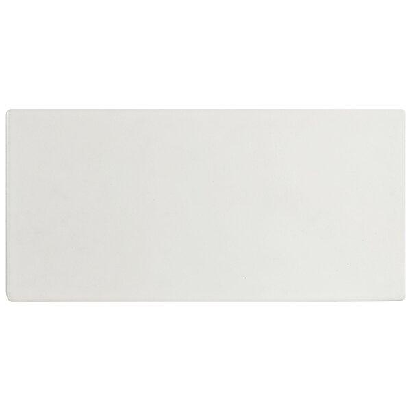 Basen 4.75 x 9.63 Porcelain Field Tile in Glossy White by EliteTile