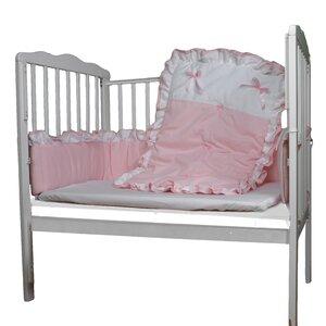 3 Piece Portable/Mini Crib Bedding Set