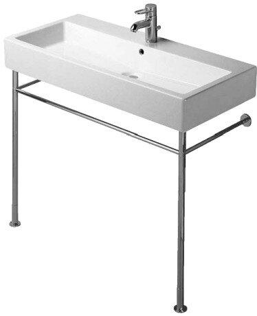 Vero Ceramic 40 Wall Mount Bathroom Sink with Overflow
