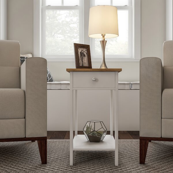 End Table With Storage By Lavish Home