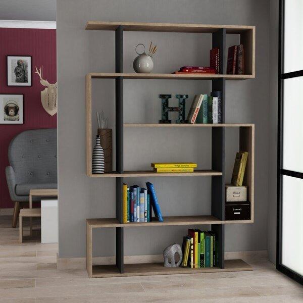 Callum Modern Standard Bookcase by Brayden Studio