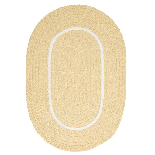 Silhouette Yellow Indoor/Outdoor Area Rug by Colonial Mills