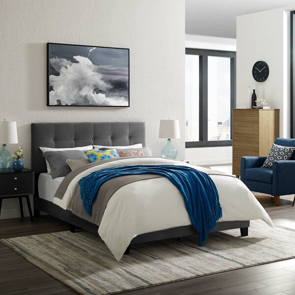 Mei Polyester Standard Bed by Andover Mills