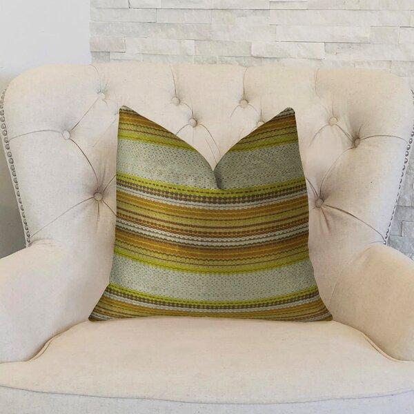 Camp Evergreen Seaweed Handmade Throw Pillow by Plutus Brands