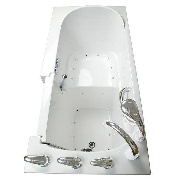 Narrow Wide Air Massage Whirlpool Walk-In Tub by Ella Walk In Baths
