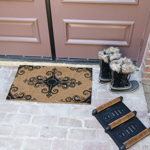 French Provincial Doormat Set (Set of 3) by Rubber-Cal, Inc.