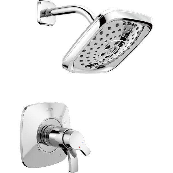 Tesla® Shower Faucet Trim with H2okinetic Technology by Delta