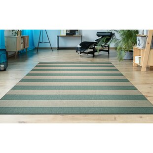 Gallinas Blue/Light Teal Area Rug by Beachcrest Home