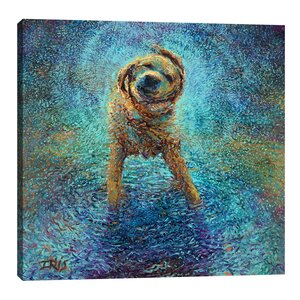 Shakin' off the Blues by Iris Scott Painting Print on Wrapped Canvas by Jaxson Rea