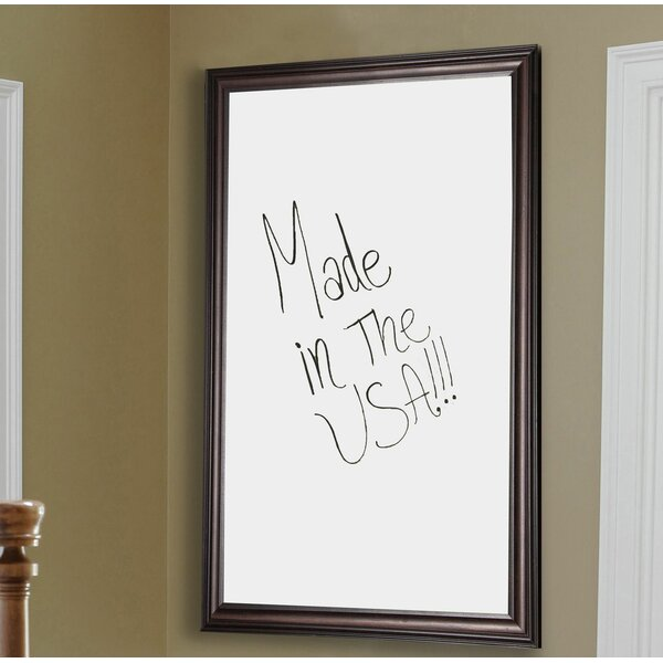 Wall Mounted Whiteboard by Rayne Mirrors