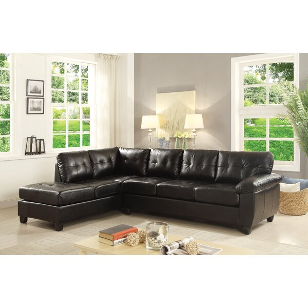 Excellent Brands Bruns Reversible Sectional by Winston Porter by Winston Porter