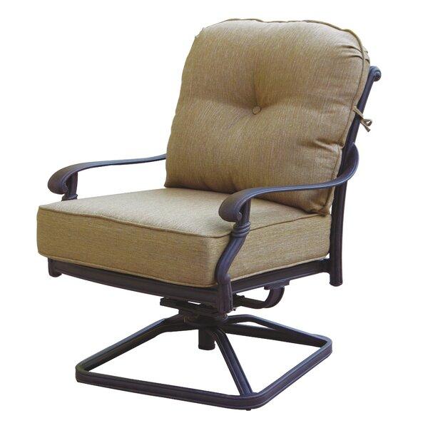 Calhoun Patio Chair with Cushion by Fleur De Lis Living