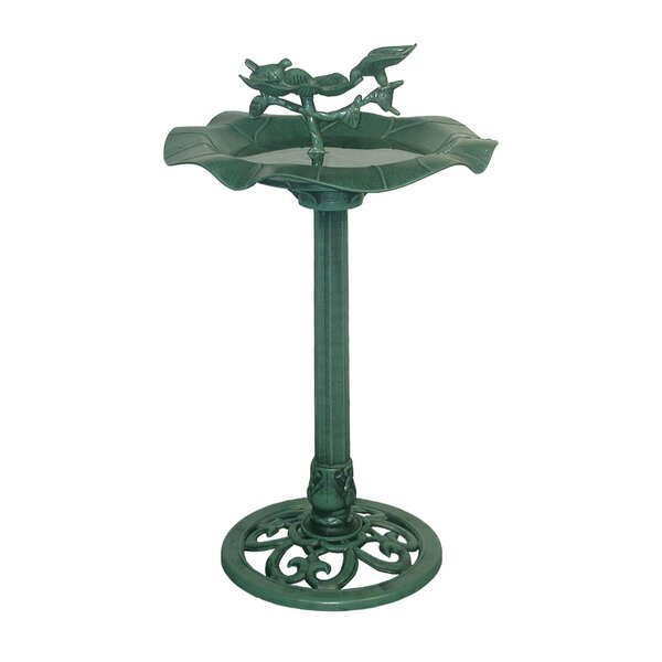 Lotus Birdbath by Woodland Imports
