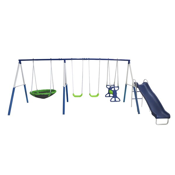 All Star Playground Swing Set by XDP Recreation