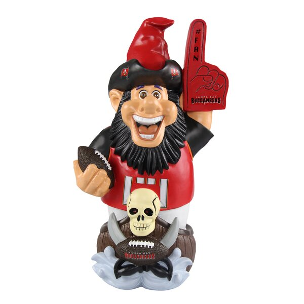 super popular 0b34a 0451b Tampa Bay Buccaneers NFL Caricature Garden Gnome Statue By Forever  Collectibles