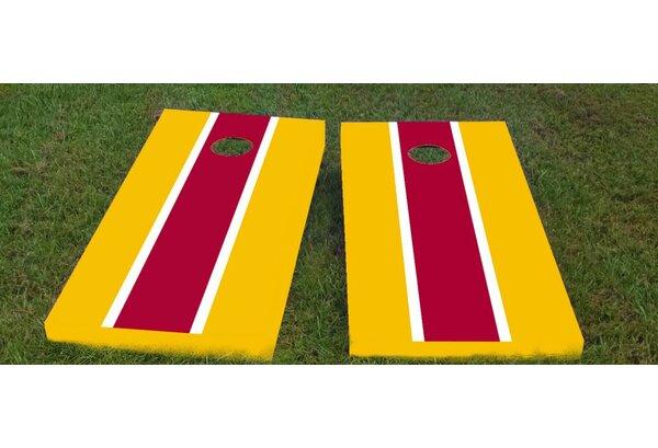 Redskins Cornhole Game (Set of 2) by Custom Cornhole Boards