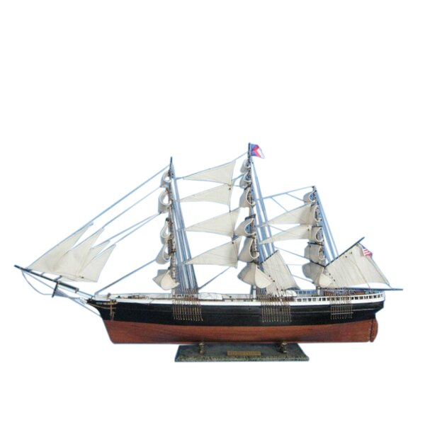 Flying Cloud 50 Limited Tall Model Ship by Handcrafted Nautical Decor