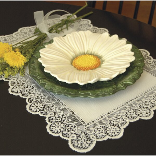 Prelude Placemat (Set of 12) by Heritage Lace