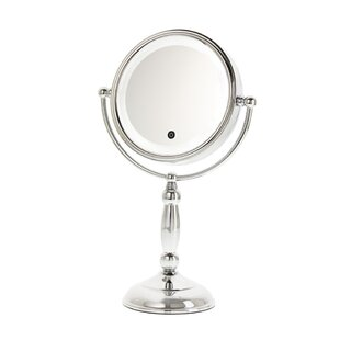 Top Reviews Touch Button Lit Makeup/Shaving Mirror ByDanielle Creations