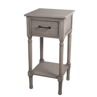 Allura Pearl End Table by Highland Dunes SKU:CD546919 Order