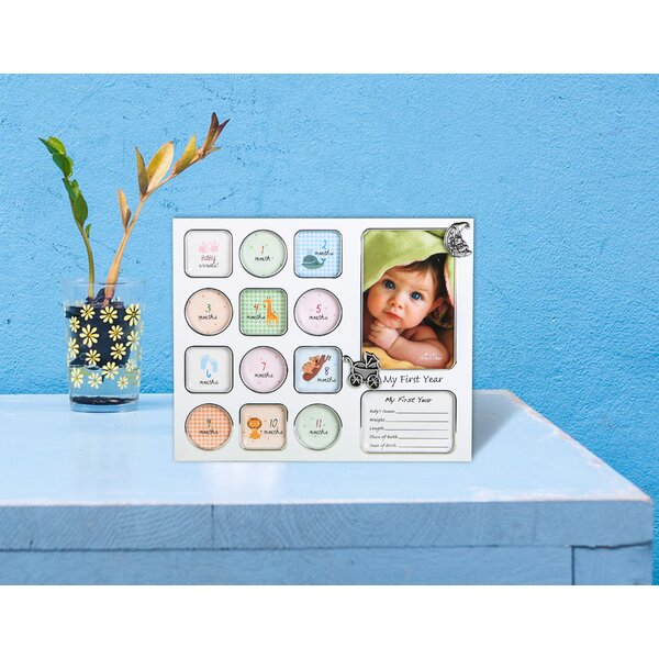 My First Year Baby Photo Collage Picture Frame by Fashion Craft