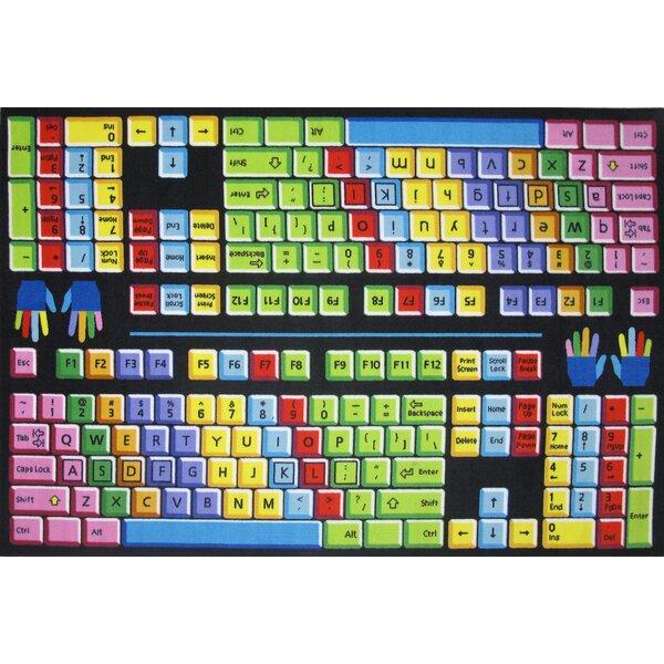 Fun Time Keyboard Kids Rug by Fun Rugs