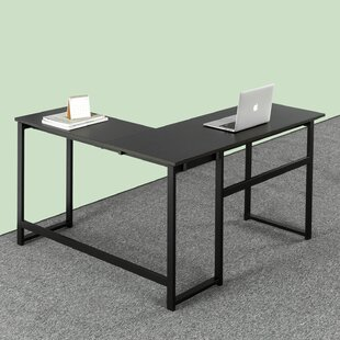 Reviews Ferrill L-Shape Desk ByEbern Designs