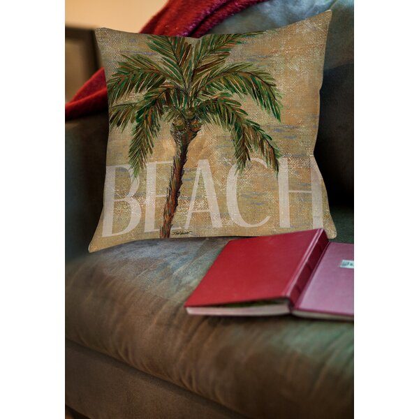 Swansea Printed Throw Pillow by Bay Isle Home