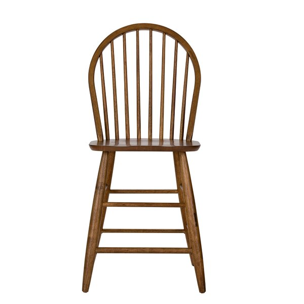 Clarissa 23.5 Bar Stool (Set of 2) by August Grove
