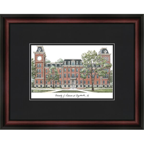 NCAA Academy Academic Lithograph Framed Photographic Print by Campus Images