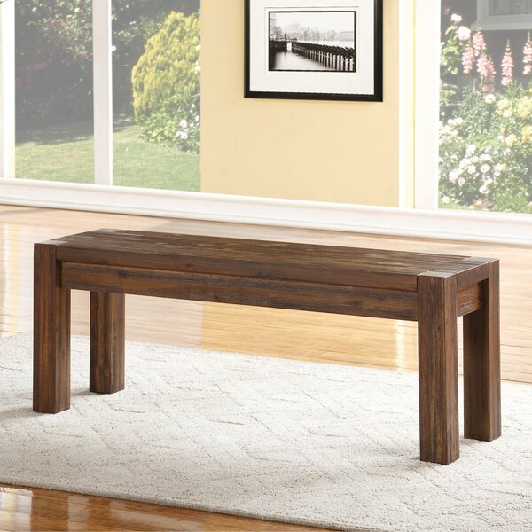 Gibson Wood Bench by Loon Peak