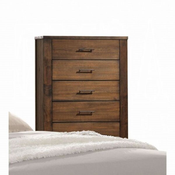 New London 5 Drawer Accent Chest