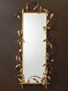 Bamboo Mirror by Global Views